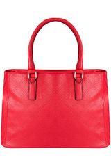 Platanitos Rojo de Mujer modelo HJ166 Carteras Casual