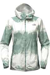 The North Face Blanco / Verde de Mujer modelo W FLYWEIGHT HOODIE Casual Casacas
