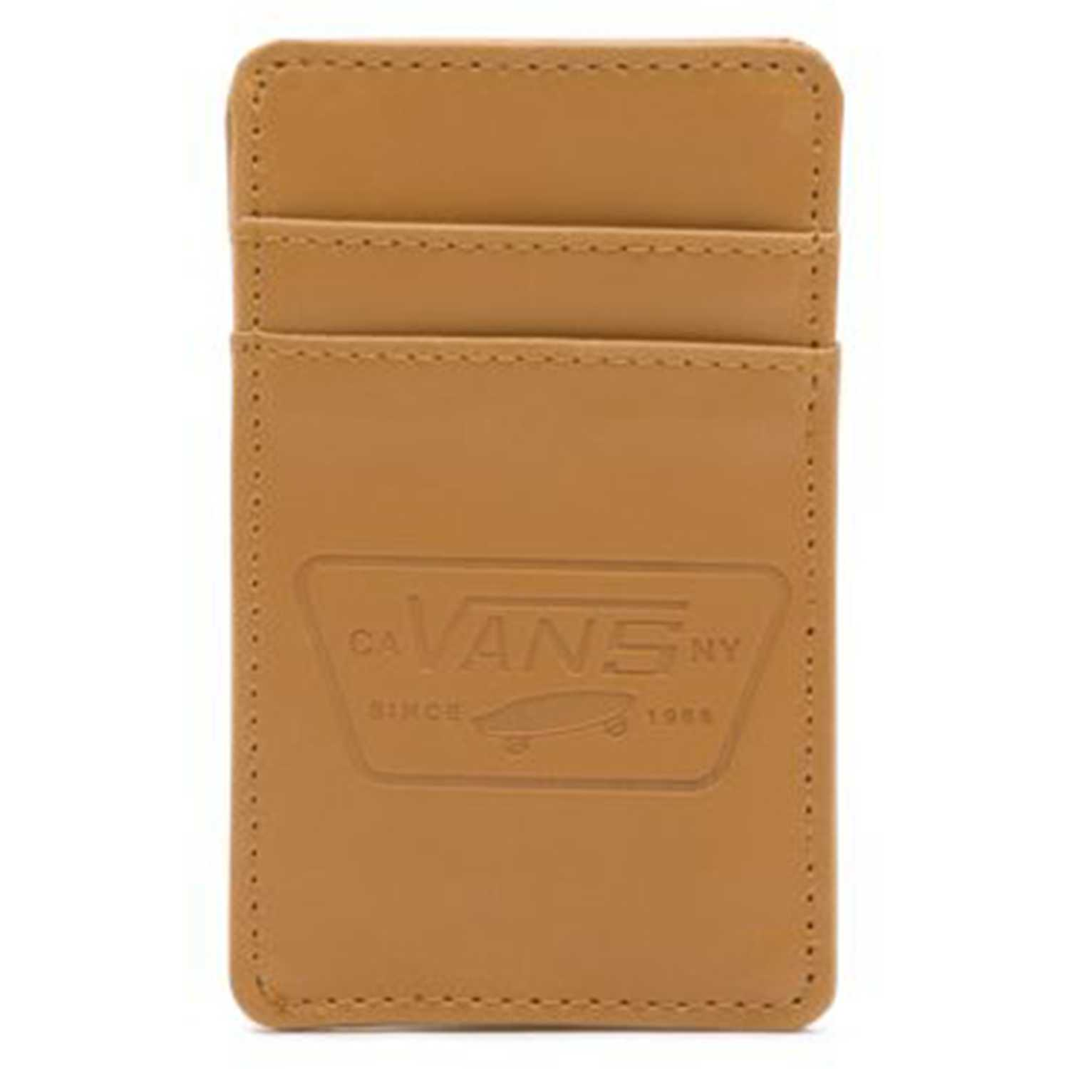 Billetera de Hombre Vans Natural full patch card holder