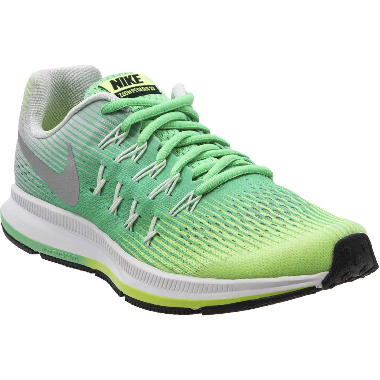 Zapatilla de Jovencita Nike gris / verde zoom pegasus 33 gg