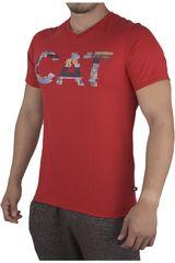 CAT Rojo de Hombre modelo T-SHIRT BASICO 4 Casual Polos