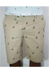 Strata Beige de Hombre modelo CHINO PATTERN Shorts Casual