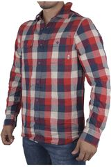 Vans Gris / Naranja de Hombre modelo ALAMEDA Camisas Casual