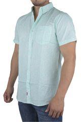 Strata Menta de Hombre modelo POLYGON Casual Camisas