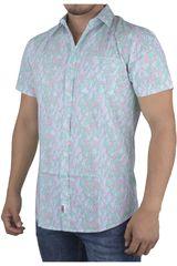 Strata Celeste de Hombre modelo DISJOINTED Casual Camisas