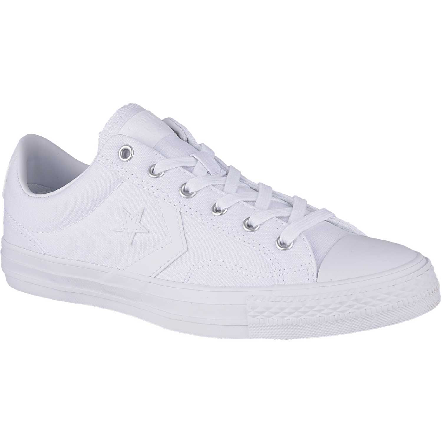 5e233398 Zapatilla de Hombre Converse Blanco star player canvas | platanitos.com