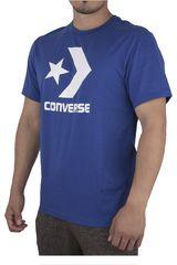 Converse Azul de Hombre modelo CORE TEE Casual Polos