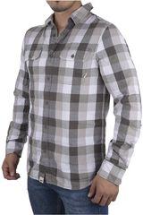 Vans Gris / Blanco de Hombre modelo ALAMEDA Casual Camisas