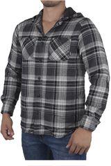 Vans Gris / Negro de Hombre modelo LOOSE SCREW IV Casual Camisas