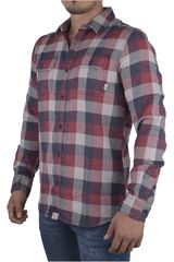 Vans Gris / Azul de Hombre modelo ALAMEDA Casual Camisas