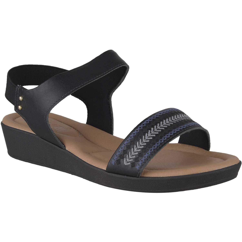 Sandalia de Mujer Limoni - Cuero Negro sct-5147