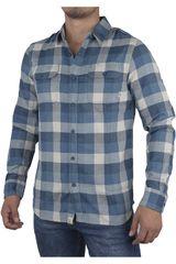 Vans Azul / Blanco de Hombre modelo ALAMEDA Camisas Casual