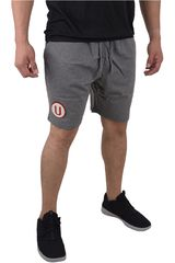 Umbro Plomo de Hombre modelo UNIVERSITARIO SWEAT SHORT Shorts Deportivo