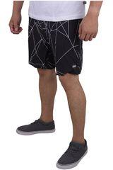 Strata Negro de Hombre modelo POLYGON Casual Shorts