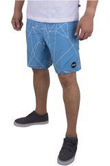 Strata Celeste de Hombre modelo POLYGON Casual Shorts