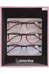 Platanitos Varios de Mujer modelo RP-S4026D(+2.50) Lentes Set