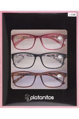 Platanitos Varios de Mujer modelo RP-S4217C(+2.00) Lentes Set