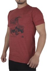 The North Face Rojo de Hombre modelo M S/S OFF ROAD TRI-BLEND TEE Casual Polos