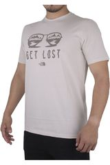 The North Face Crema de Hombre modelo M S/S FEAR N LOST TRI-BLEND TEE Casual Polos