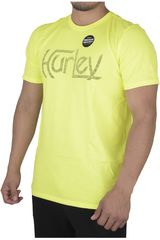 Polo de Hombre Hurley ORGINAL PUSH THROUGH PREMIUM Amarillo
