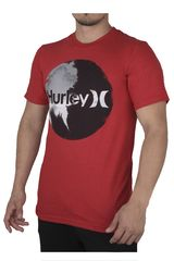 Hurley Rojo de Hombre modelo SMOKEY SHORT SLEEVE Polos Casual