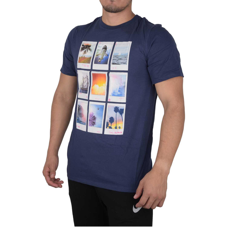 Polo de Hombre Hurley Azul polaroids premium