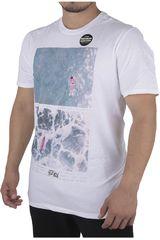 Hurley Blanco de Hombre modelo DETEMPLE PHT PREMIUM Casual Polos
