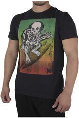 Hurley Negro de Hombre modelo DEATH MONKEY PREMIUM Polos Casual
