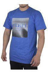 Hurley Azulino de Hombre modelo SQUARED SHORT SLEEVE Polos Casual