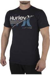 Polo de Hombre Hurley Negro APPLE TREE SHIRT