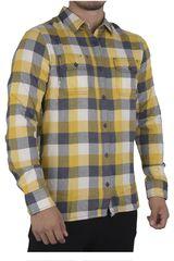Vans Amarillo / gris de Hombre modelo ALAMEDA II Casual Camisas