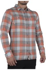 Vans Naranja / Gris de Hombre modelo ALAMEDA II Casual Camisas
