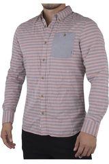 Camisa de Hombre Vans Coral RUSDEN STRIPE LS