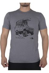 The North Face Gris de Hombre modelo M S/S OFF ROAD TRI-BLEND TEE Casual Polos