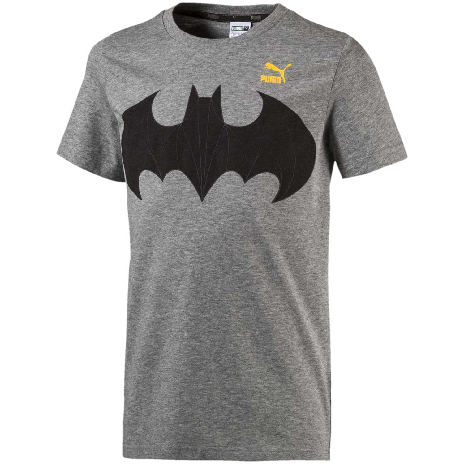 Polo de Niño Puma Gris   Negro justice league tee (batman ... cd05f5b279a60