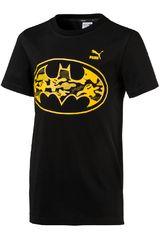 Puma Negro / Amarillo de Jovencito modelo JUSTICE LEAGUE TEE (BATMAN) Deportivo Polos