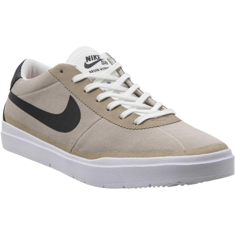 low priced d3943 c0e46 Zapatilla de Hombre Nike Beige   negro sb bruin hyperfeel cnvs