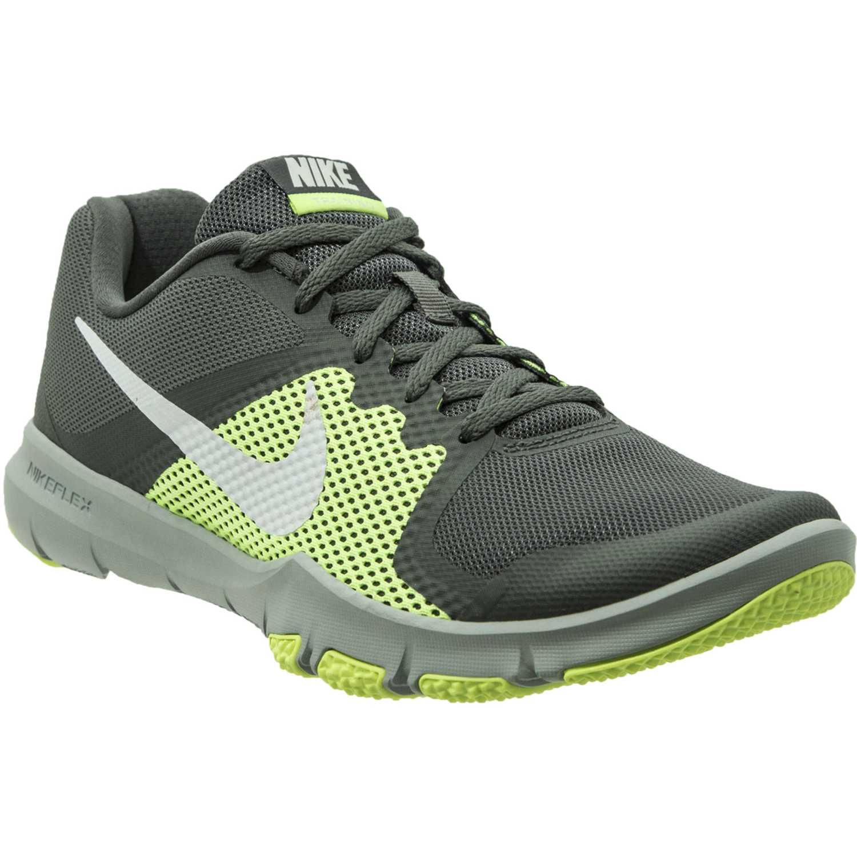 release date: f0bb2 436c7 Zapatilla de Hombre Nike Plomo / verde flex control | platanitos.com