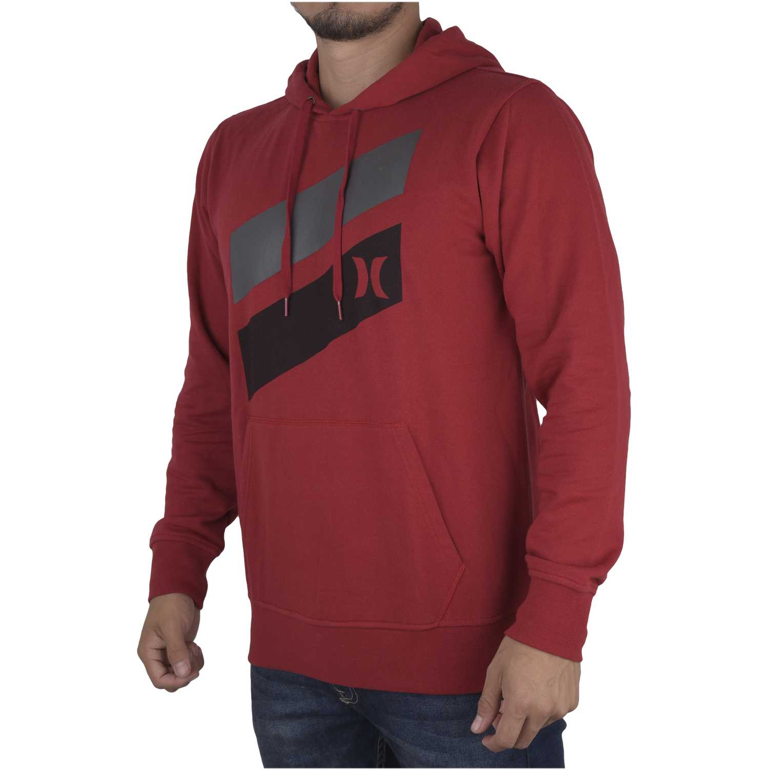 Polera de Hombre Hurley Rojo icon slash fleece pull in