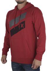 Hurley Rojo de Hombre modelo ICON SLASH FLEECE PULL IN Poleras Casual