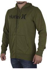 Hurley Verde de Hombre modelo ONE AND ONLY FLEECE ZIP UP Casual Casacas