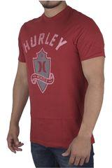 Hurley Rojo de Hombre modelo ALAS PUSH THOUGH PREMIUM Casual Polos