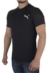 Puma Negro /Gris de Hombre modelo DRI-RELEASE SS GRAPHIC TEE Deportivo Polos