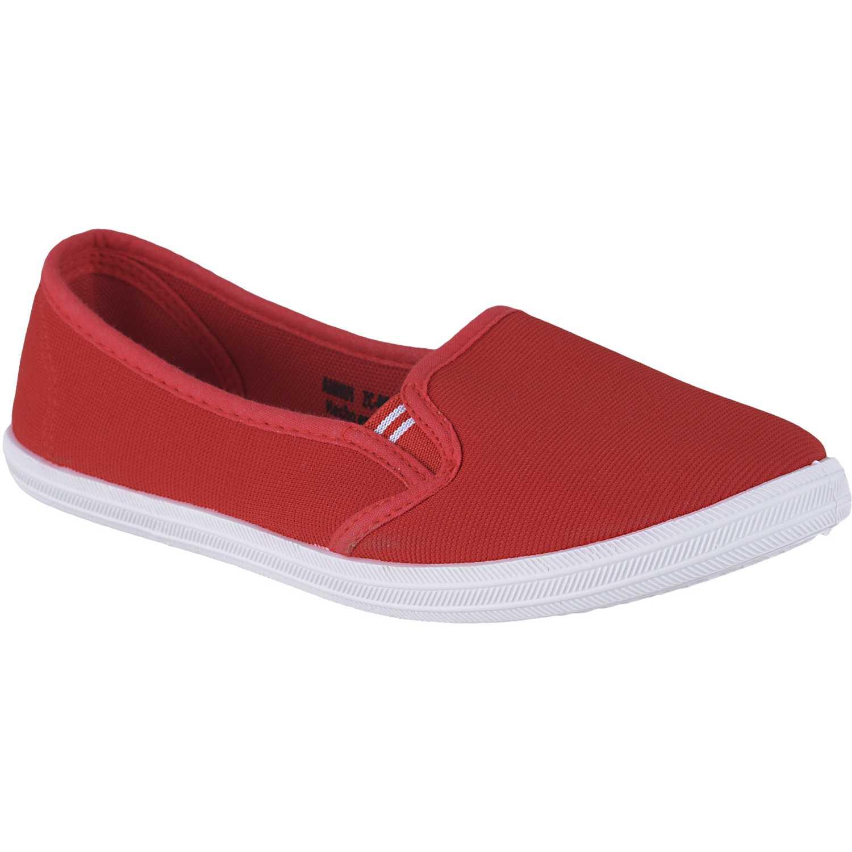 Zapatilla de Mujer Just4u Rojo zc-088