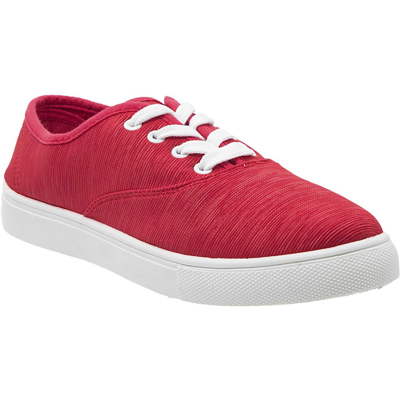 Zapatilla de Mujer Just4u Rojo zc-10013