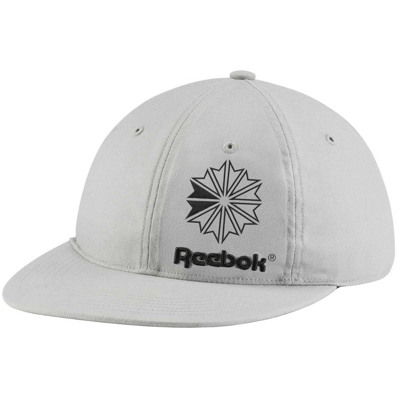 Gorro de Hombre Reebok Gris / negro cl iconic taping cap