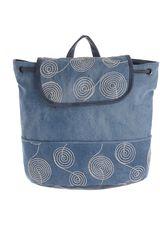 Platanitos Azul de Mujer modelo HF-5265 Carteras Mochilas Casual