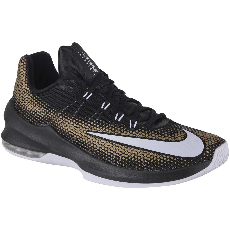 Zapatilla de Hombre Nike Negro / marrón air max infuriate low