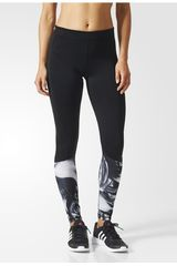 adidas Negro /Gris de Mujer modelo TF TIG LT PR1 Leggins Deportivo