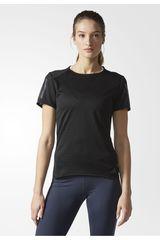 Adidas Negro /gris de Mujer modelo RS SS TEE W Camisetas Deportivo